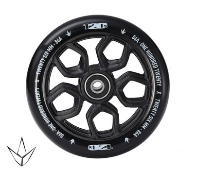 Blunt Wheel Lambo 120mm Black