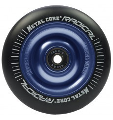 MetalCore Wheels Radical 110mm black/blue