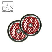 Root Industries Honeycore wheels 120mm Black/Red