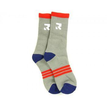 Root Industries Socks Three Stripes Size 2 / 7 Grey