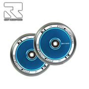 Root Industries Air 120 mm Wheel black/sky blue (Pair)