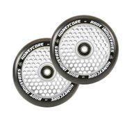 Root Industries Honeycore wheels 120mm Black/Mirror (paar)