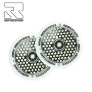 Root Industries Honeycore wheels 120mm White/Black (Pair)