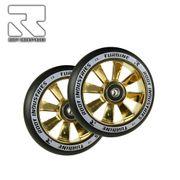 Root Industries Turbine wheels 110mm Black/Gold