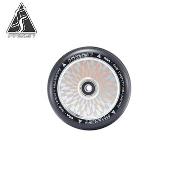 Fasen Stunt Scooter Wheel 120mm Hypno Offset Chrome