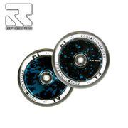 Root Industries Stunt Scooter Wheel AIR 110mm Black / Blue Splatter (paar)