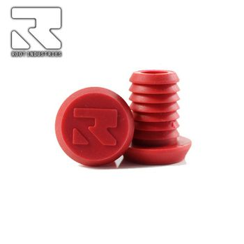 Root Industries Scooter Bar ends Alloy Red (paar)