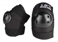 187 Killer Pads Elbow Protection Size S Black