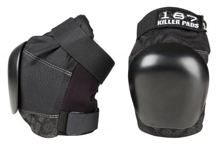 187 Killer Pads Pro Knee Protection Size S Black