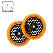 Root Industries Honeycore Radiant wheels 120mm Orange Pair