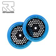 Root Industries Honeycore Radiant wheels 120mm Blue Pair