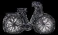 "E-Bike Cube Town Hybrid Sport 500 Wave 28"" 500Wh Bosch Active Plus 9G Freilauf 001"