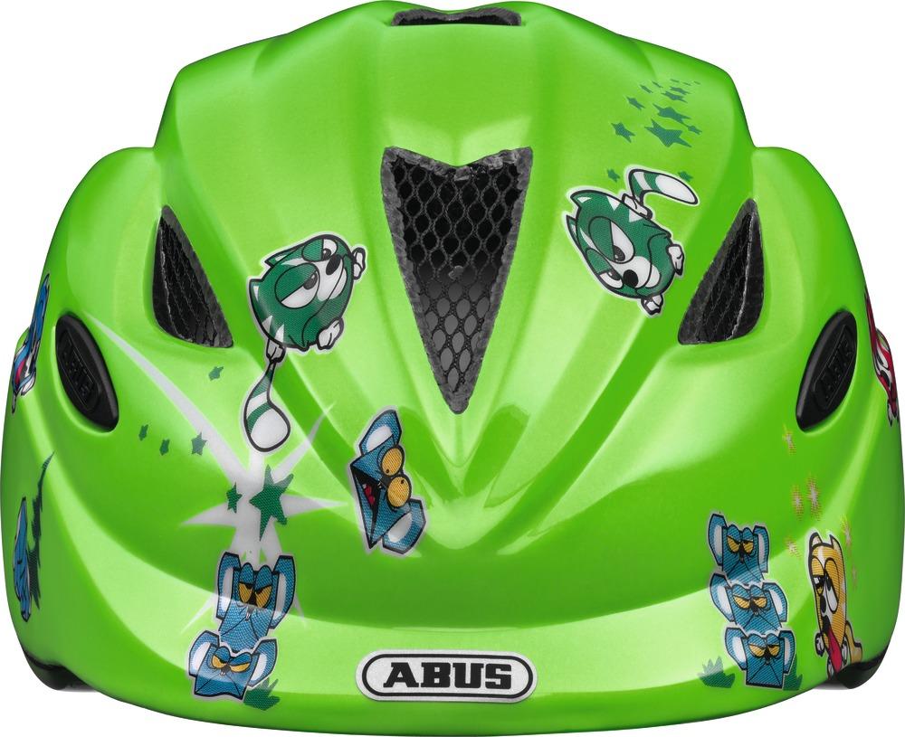 Kinder-Fahrradhelm Abus Anuky green catapult Gr. S 46-52 cm  – Bild 3