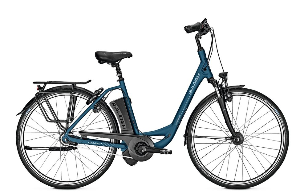 E-Bike Raleigh Dover Impulse 8R Hs 8G Wave Rücktritt 17 Ah bluematt 28""
