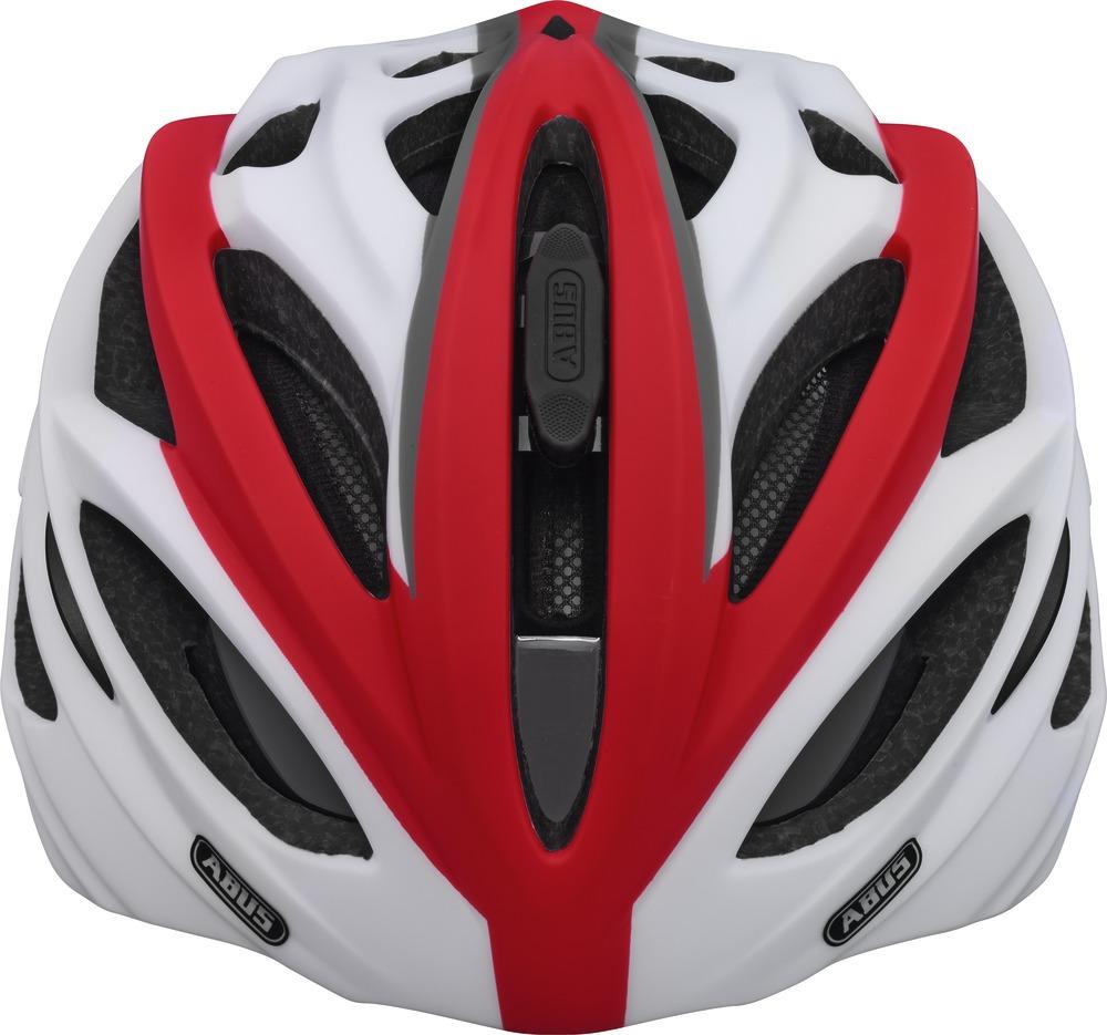 Fahrradhelm Abus In-Vizz race red L 60-63  cm mit Visier – Bild 3