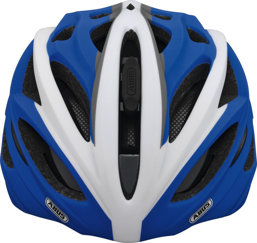 Fahrradhelm Abus In-Vizz race blue L 60-63 cm mit Visier – Bild 2
