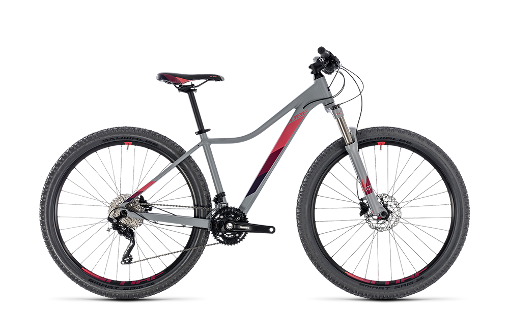 "Mountainbike Cube Access WS Race 29"" 30G Freilauf grey´n´berry"