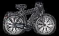 "Cityrad Cube Town Pro Comfort Herren 28"" 7G Freilauf black´n´black 001"