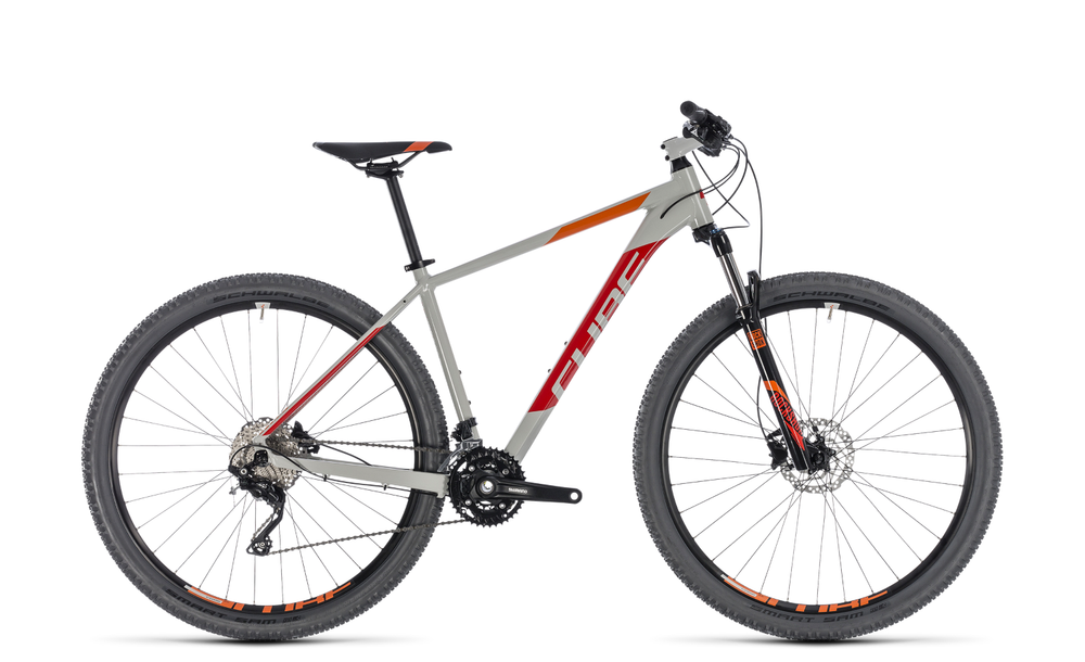 """Mountainbike Cube Attention 29"""" 30G Shimano XT grey´n´red"""