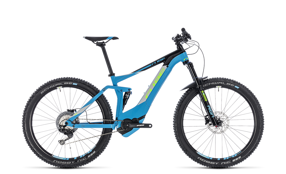 "E-Bike Cube Stereo Hybrid 140 Pro 500 27,5"" Perform. CX 11G XT blue´n´green"