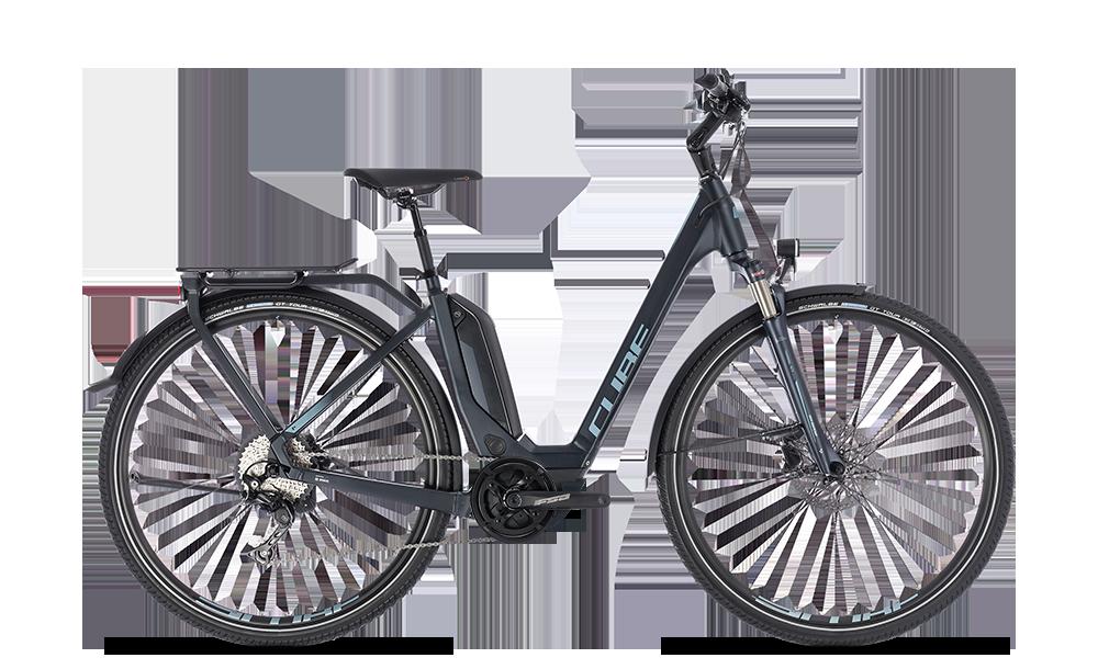 """E-Bike Cube Touring Hybrid Pro 500 Tief 28"""" 500Wh Bosch Active Plus 10G Freilauf darknavy"""