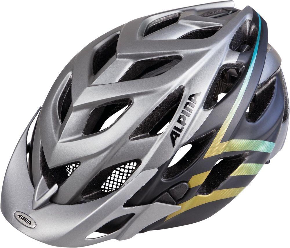 MTB Fahrradhelm Alpina D-Alto L.E. darksilver black gradient – Bild 1