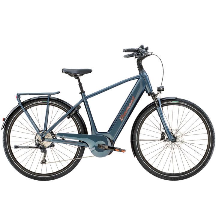 """E-Bike Diamant Zagora+ Herren 28"""" 500Wh Bosch Active Plus 10G Freilauf blau"""