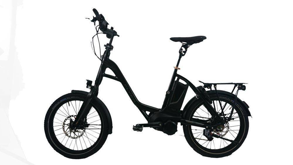 "E-Bike Flyer Flogo 7.60 LE 20"" Rh 46cm 12Ah Panasonic 11G Freilauf schwarz"