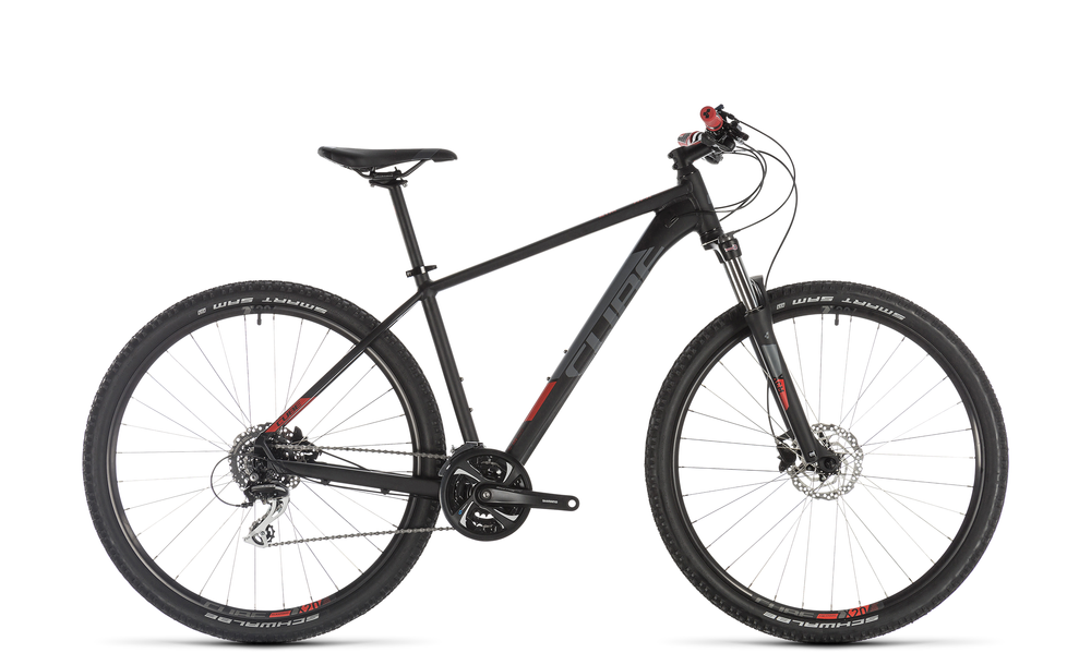 "MTB Cube Aim Race 27,5"" 24-Gang black´n´red 2019"