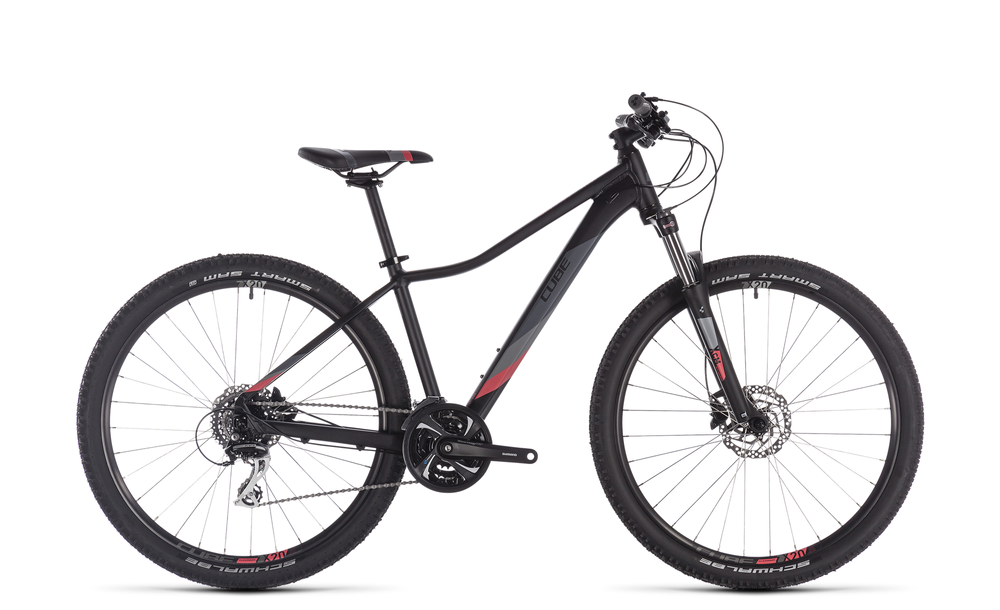 "Mountainbike Cube Access WS Exc 27,5"" 24-Gang black´n´coral 2019"