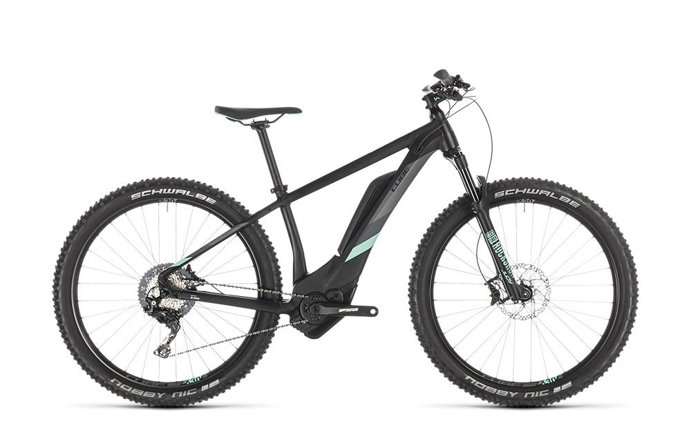 "E-Bike Cube Access Hybrid Race 500 27,5"" 13,4Ah 11G black´n´mint"