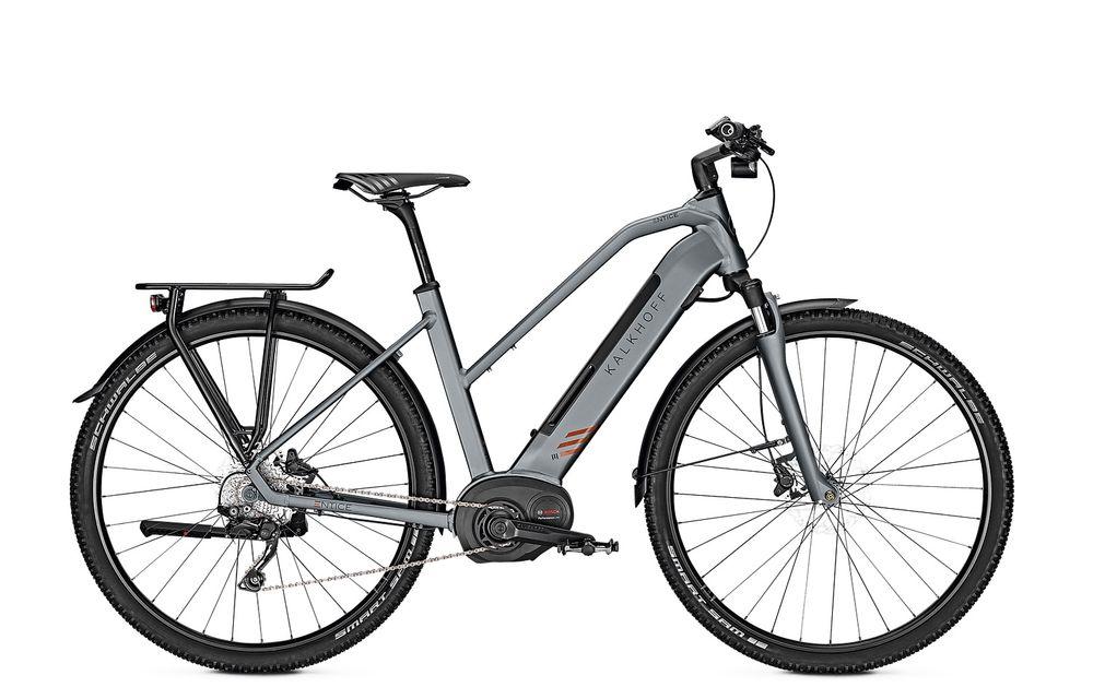 "E-Bike Kalkhoff Entice 5.B Tour Bosch CX 500Wh 10G Deore Freilauf 28"" shadowgrey"