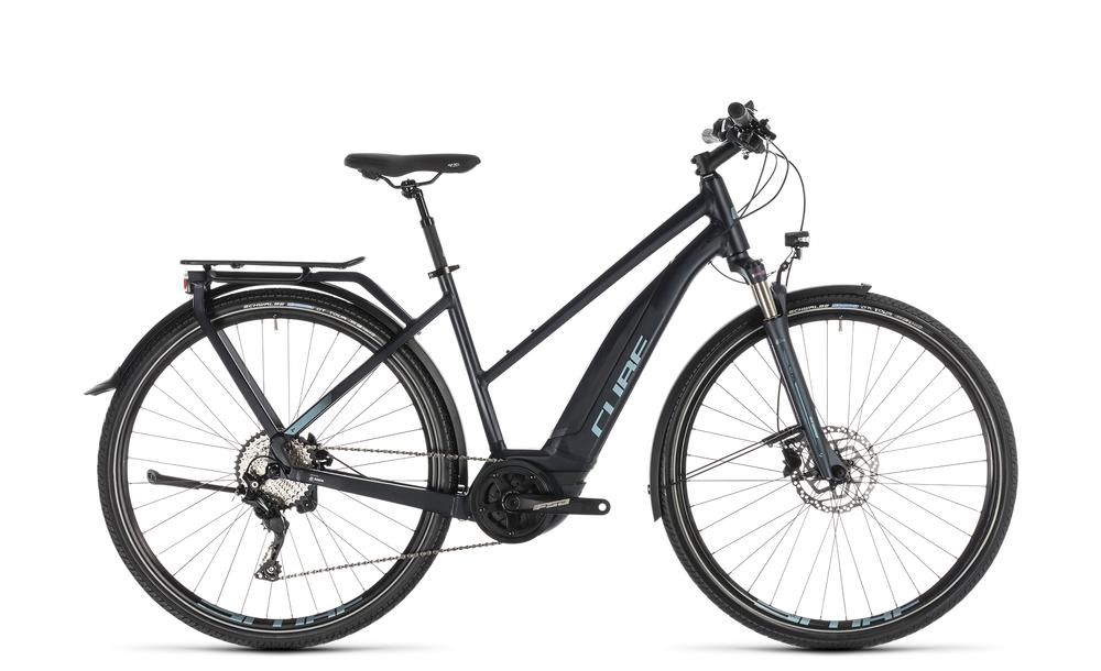 "E-Bike Cube Touring Hybrid Pro 500 Trapez 28"" 500Wh 10-Gang darknavy´n´blue 2019"