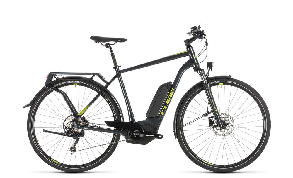 "E-Bike Cube Kathmandu Hybrid Pro 500 Herren 28"" 10-Gang 500Wh iridium´n´green 2019"