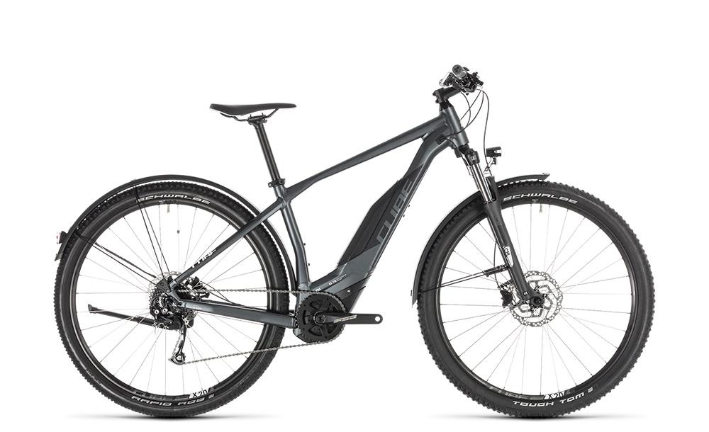 """E-Bike Cube Acid Hybrid ONE 500 Allroad 29"""" 13,4 Ah 9G Diamant grey´n´white"""