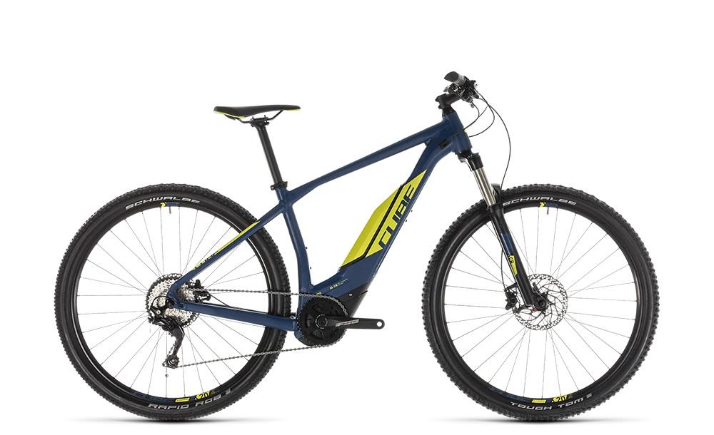 "E-Bike Cube Acid Hybrid Pro 500 29"" Diamant  250W 10G darkblue´n´lime"