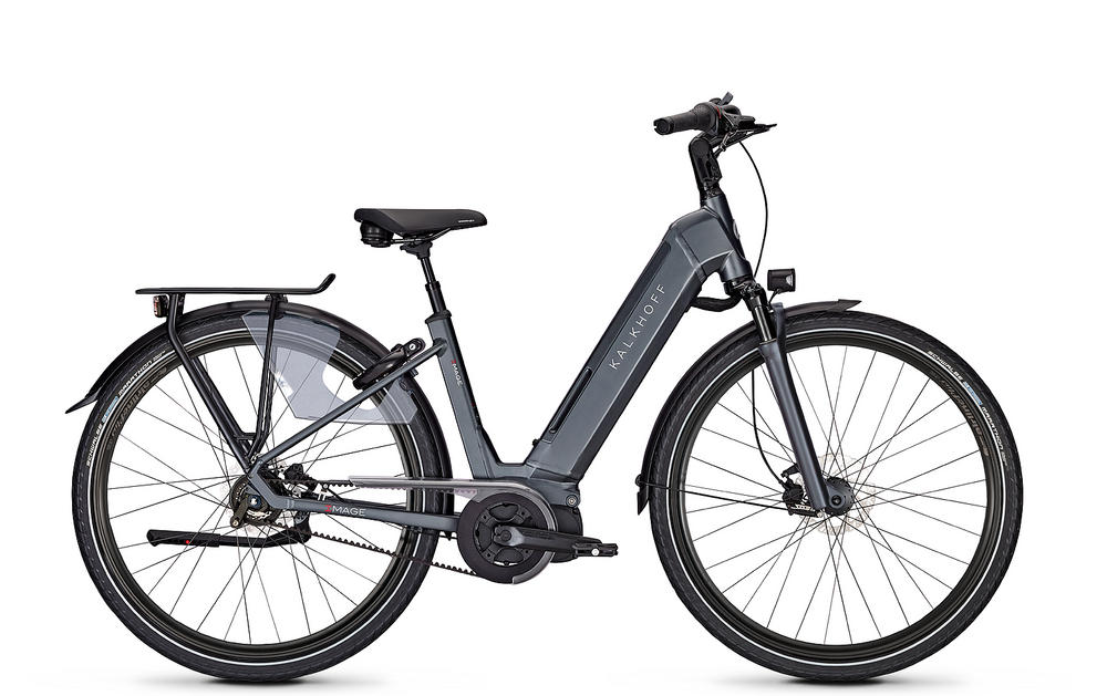 "E-Bike Kalkhoff Image 5.I Advance BLX 8-Gang 13,8 Ah Wave 28"" Freilauf diamondblack matt"