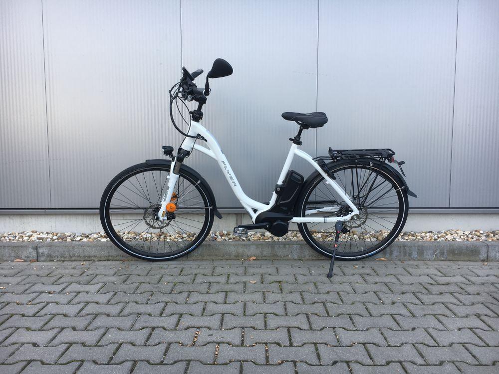 E-Bike Flyer T 8.2 Tief L 55 cm weiss HS 45 km/h  – Bild 1