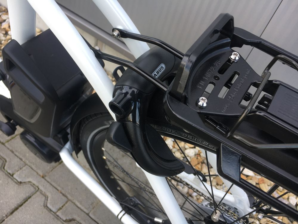 E-Bike Flyer T 8.2 Tief L 55 cm weiss HS 45 km/h  – Bild 5