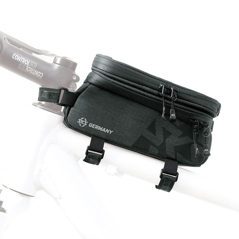 SKS Traveller Smart Rahmentasche Oberrohr 1350 ml schwarz – Bild 2