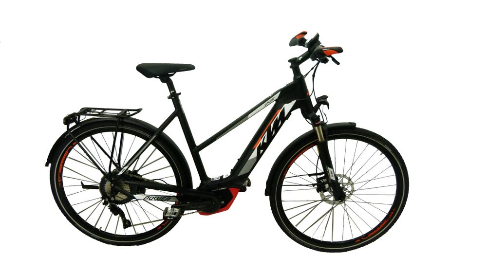 "E-Bike KTM Power Sport 11 Damen Drive Unit 500 Wh 28"" black"