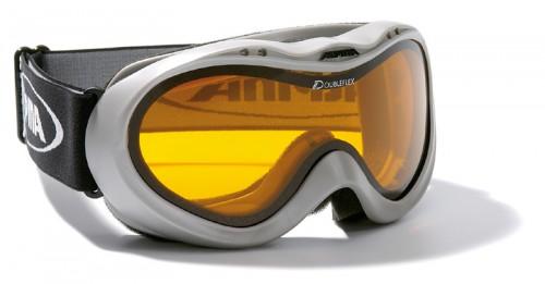 Skibrille Alpina Freeride Doubleflex silver