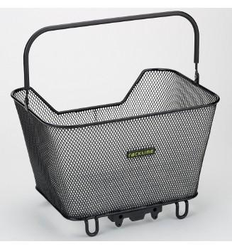 Fahrradkorb RACKTIME Basket schwarz,41,5 x 30 x 21,5 cm,Small