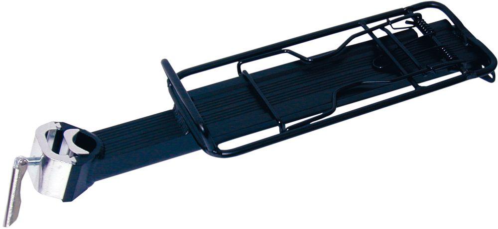 Alu Sattelstützträger CA8 schwarz-matt