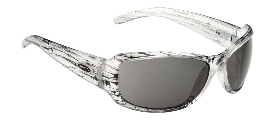 Sonnenbrille ALPINA A67 Fashionbrille white transparent deco