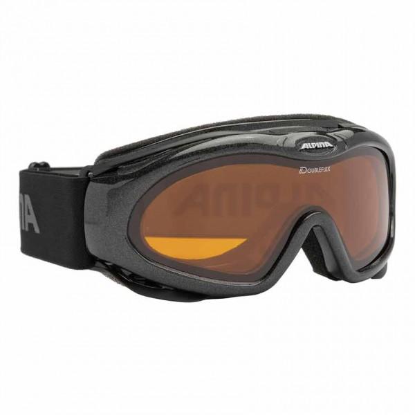 Skibrille Alpina BONFIRE D schmale Brille mit Doubleflexscheibe