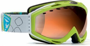 Skibrille Alpina CYBRIC HM A70788  weiss-kohle & limette