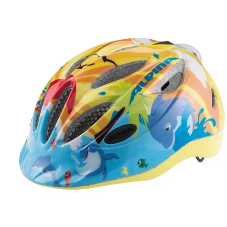 Junior/Kids Fahrradhelm Alpina Gamma Flash  – Bild 1