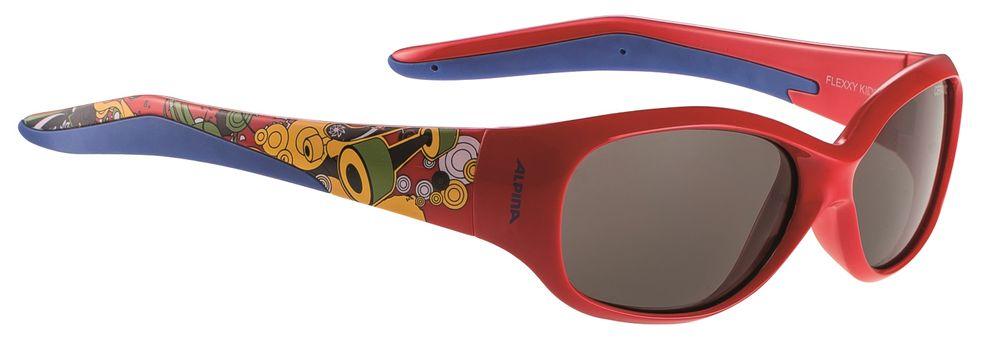 Kinder Sportbrille Alpina Flexxy Kids rot