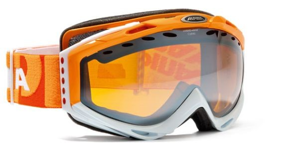 Skibrille Alpina CYBRIC HM orange-white